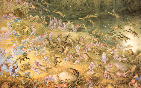 Richard Doyle - The battle of the frogs and fairies
